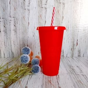 STARBUCKS | Reusable Red Cold Cup Stay Cool 24 oz.